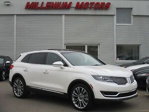 2017 Lincoln MKX RESERVE AWD / NAVI / B.CAM / SUNROOF
