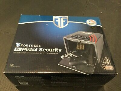 FORTRESS PISTOL SECURITY SAFE VALUABLES New in Box