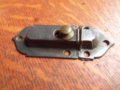 Antique Craftsman Cast Iron Cabinet Latch c1900