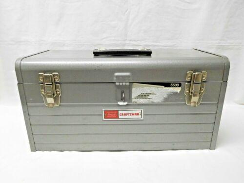 """Vintage Sears Craftsman 18"""" Mechanics Tool Box 6500"""