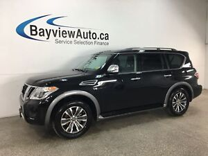 2018 Nissan Armada SL - HTD LTHR! SUNROOF! REMOTE START! NAV!...