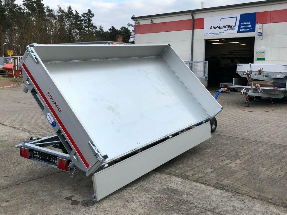 ⭐ Anhänger Eduard e-Kipper 3-Seiten 2700kg 311x160x30cm Rampen 72 in Schöneiche bei Berlin