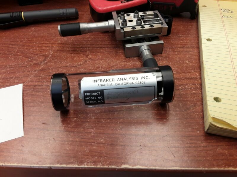 Infared Analysis Ultra-Minicell Gas Cell Small Volume U-Min 2.4 MT Path