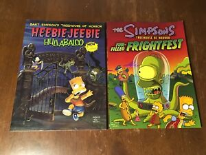 Simpsons Treehouse of Horror Graphic Novels