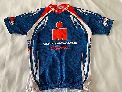 Ironman Triathlon Kona Hawaii Swim Run Bike Cycle Women M Medium Finisher Jersey