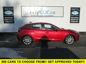 2015 Mazda Mazda3 GT LEATHER, SUNROOF, NAV, BEAUTIFUL CAR!!