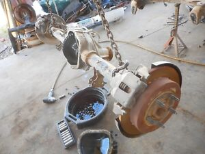 00-03 Ford F150 Rear End Axle 3.55 Ratio 9.75