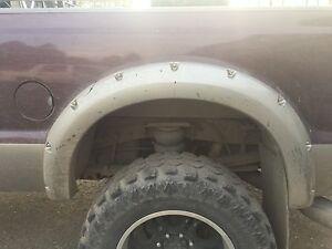 Looking for a fender flair like this. Ford F-350