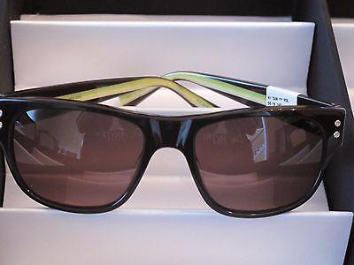 Sama Sunglasses, Hi Sun, Polarized, Brown/Green,  Size 55,  NWT Retail $318