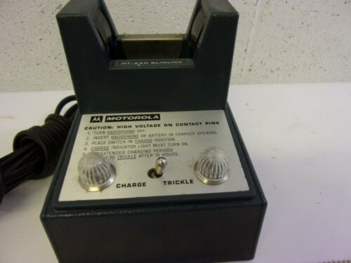 Vintage Motorola Radio Charger NLN6684A for HT-220