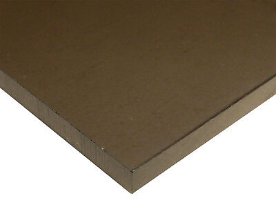 14 6mm Bronze Smoke 12x12 Tinted Acrylic Plexiglass Sheet Transparent Azm
