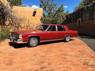 1985 Cadillac Fleetwood Brougham d'Elegance, 4,000 miles, Caprice, Mercedes, 92