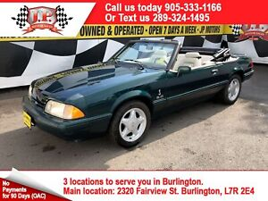 1990 Ford Mustang LX, Automatic, Leather, Convertible