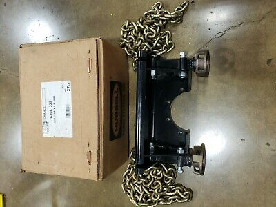 C308-1335 Ab Chance 1000lb. Capstan Hoist Bracket F.a.e With Chains