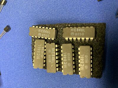 Mc846l Motorola 846l 846dc Ic 14-pin Cerdip Vintage 1980 Last Ones Collectible