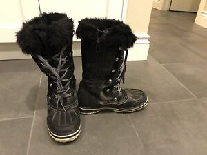 Superfit Winter Boots, Youth Girls Size 4