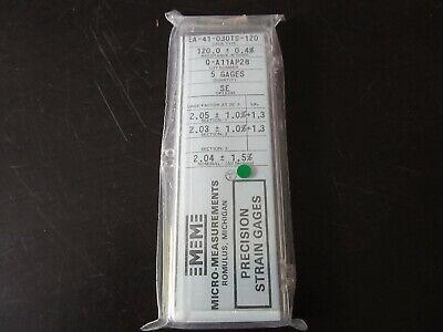 Vishay Micro Measurements Precision Strain Gage Ea-41-030ts-120 Opt Se 5 Pack