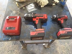 SNAP ON Cordless Impacts