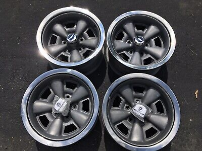 Set Of 4 1972 Chevelle SS Wheels - Complete