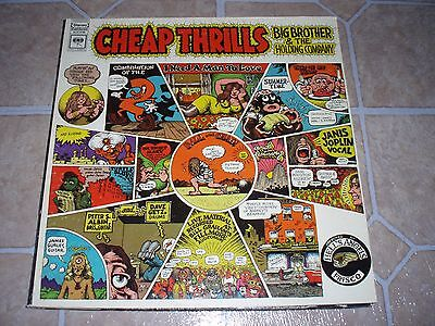 Big Brother   The Holding Company Lp Cheap Thrills 1St Press 360 Sound 1B 1D