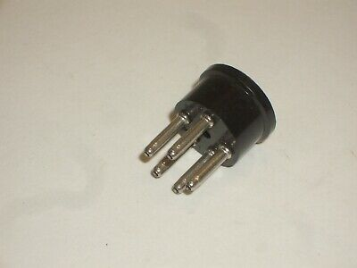 Amphenol 71-5s 5 Pin Mini Microphone Speaker Plug Connector Mates To 78-s5s