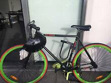 Bicycle and complete pack  ALMOST NEW great deal Docklands Melbourne City Preview