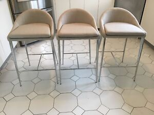 Structube bar stools, new, never used