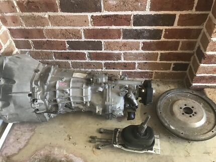 TR6060 gearbox and clutch LS