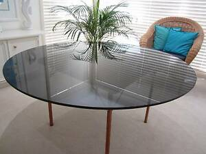 Round Glass table top Warriewood Pittwater Area Preview