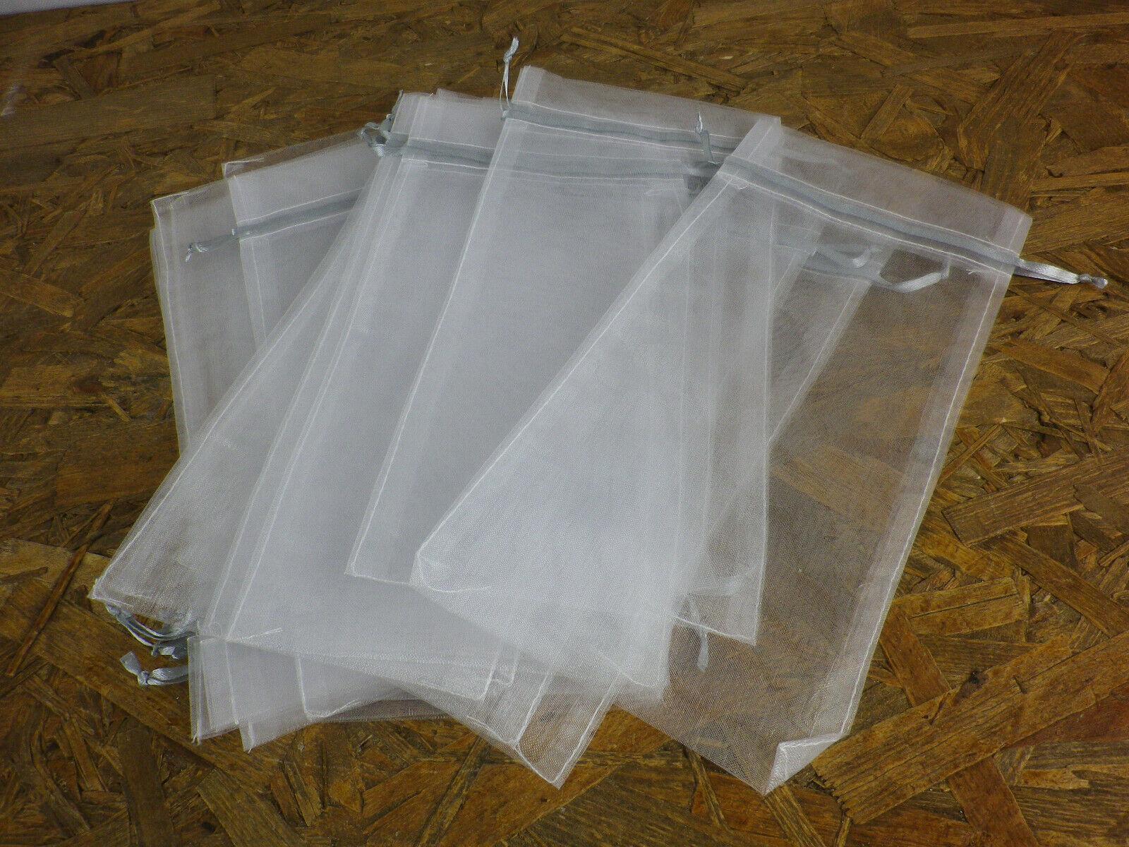 Duftbeutel Duftsäckchen Seifenbeutel Seifennetz 12x26 cm Tüte mit 20 Stück