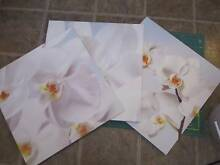 ORCHIDS PAINTINGS SET OF 3 PJATTERYD 10285 IKEA $45 Hamersley Stirling Area Preview