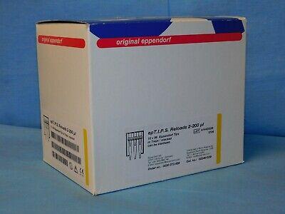 Eppendorf 022491539 Ept.i.p.s. Reloads 2-200ul 10x96 960 Tips New