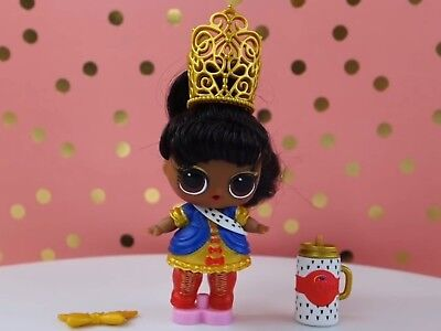 LOL Surprise Dolls HER MAJESTY Hair Goals Pageant Crown Tiara Color Changer NEW