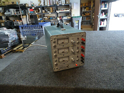 Pdi Power Designs Inc Tp343b Triple Output Dc Power Supply 0-20v0-2.5a
