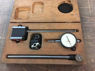 Starrett Indicator Set W Dial Indicator And Case  Bridgeport Mill