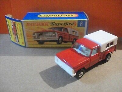 Vintage Matchbox No. 6 Ford Pickup Truck w/ original box - Near Mint Condition