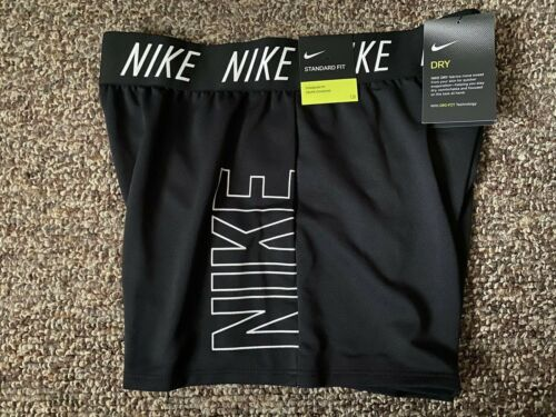 New NIKE Shorts Youth Girl Size L *Black Dri-Fit