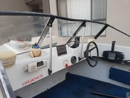 4.6m Boat 60hp Mercury