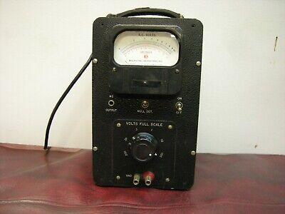 Vintage Ballantine Laboratories Model 310a Vacuum Tube Voltmeter Tested
