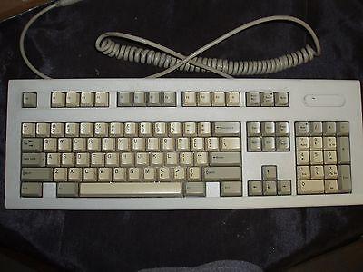 Vintage Compaq Enhanced Ii Keyboard Ps2 Interface For Pc Computer Pos 101 Key