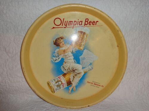 Vintage Olympia Beer Serving Advertising Tray
