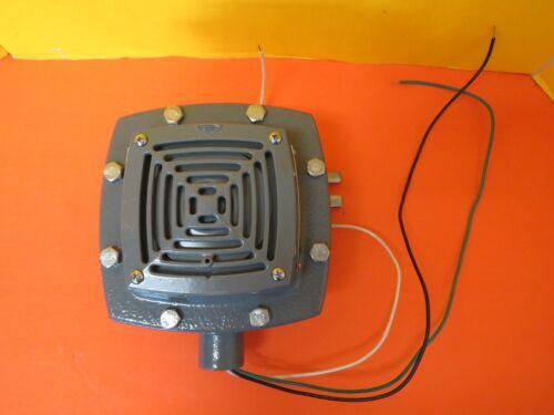 EDWARDS SIGNALING 879EX-G1 ADAPTAHORN EXPLOSION PROOF VIBRATING HORN