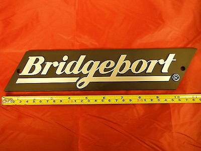 Bridgeport Mill Part Milling Machine Name Plate For The Ram 11060502 New
