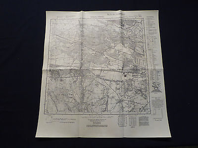 Landkarte Meßtischblatt 3444 Dallgow - Döberitz, Falkensee Staaken Seeburg, 1937