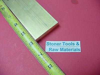 12 X 2 C360 Brass Flat Bar 6 Long Solid Plate Mill Stock H02 .50x 2.00x 6