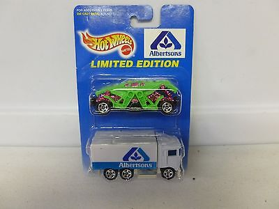 Hot Wheels Limited Edition 2 Car Pack Albertsons W  Zombot