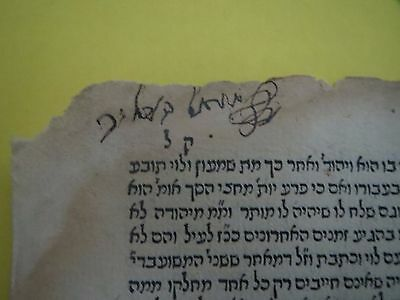 Post incunabula Venice 1519 Maharik Responsa Signature of Rabbi Shmuel Heller