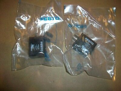 2pc Festo Solenoid Coil Msn1g-24v  New In Bag