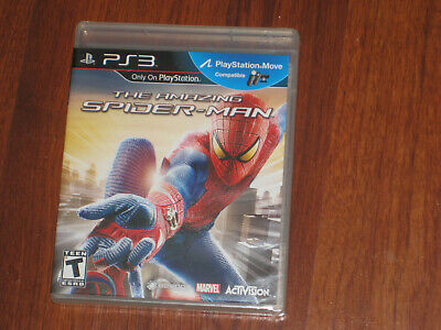 The Amazing Spider-Man (PS3 Sony PlayStation 3, 2012) Brand New & Factory Sealed