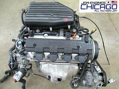 Honda Civic 2001 - 2005 JDM D17A SOHC Vtec Engine 01 02 03 04 05 Motor